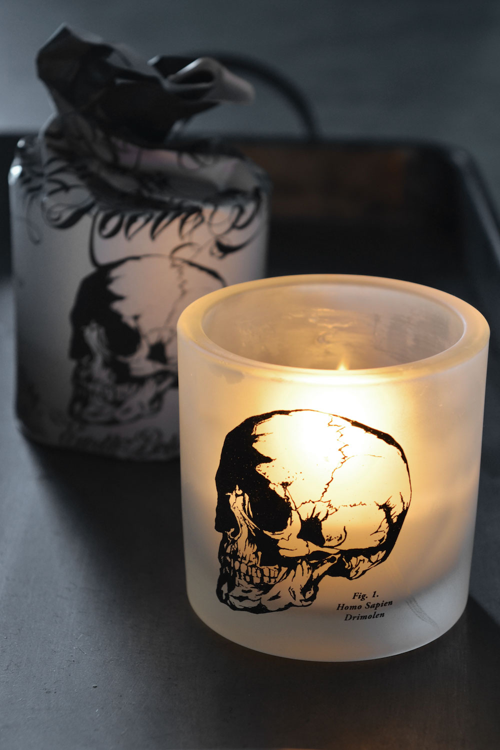 Skull Tattoo Scented Candle Masquerade