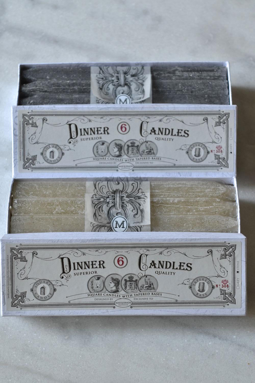 Dinner Candles Masquerade