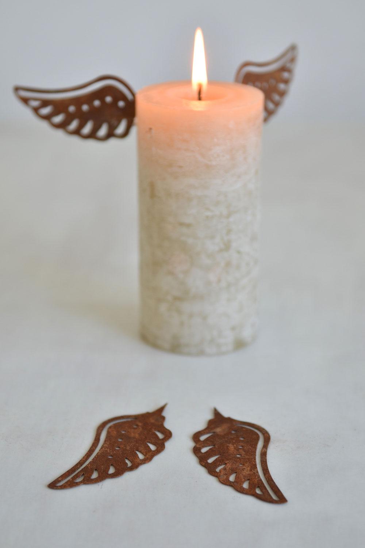 Wing Candle Pins Masquerade