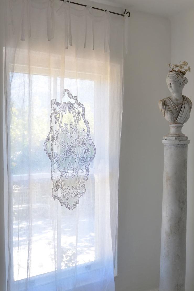 Medallion Sheer Voile Curtain